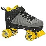 Pacer Comet Quad Kids Roller Skate, with Light Up Wheels, P973, Black sz 12J
