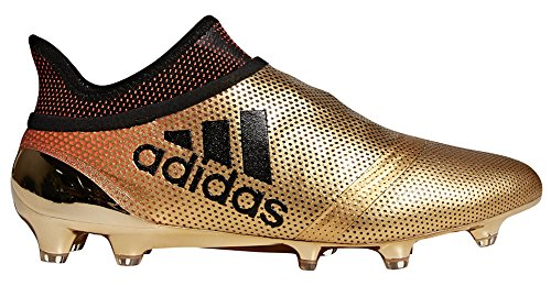 adidas Men's X 17+ Purespeed FG Soccer Cleats - Gold