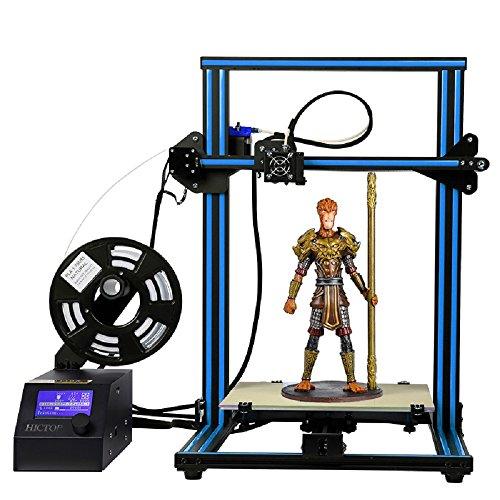 HICTOP Creality CR-10 3D Printer Prusa I3 DIY Kit Aluminum Large Print Size 300x300x400mm