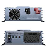 Power Bright APT1200-12 Pure Sine Power Inverter with Automatic transfer 1200 Watt continuous / 2000 watt Peak 12 Volt ETL Approved under UL/CSA Standards