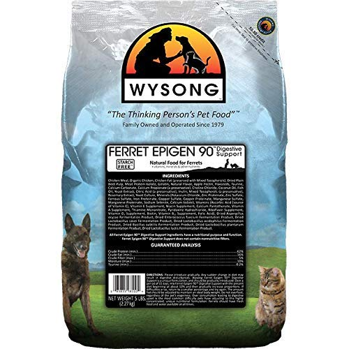 Wysong-Ferret-Epigen-90-Digestive-Support-Dry-Ferret-Food-5-Pound-Bag-Premium-Pack
