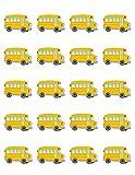 Teacher Created Resources School Bus Stickers (5651)