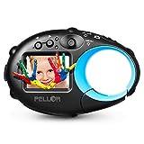 PELLOR Kids Action Camera Children's HD Mini Digital Video Recorder Camcorder (Screen: 1.5', Black (no sd))