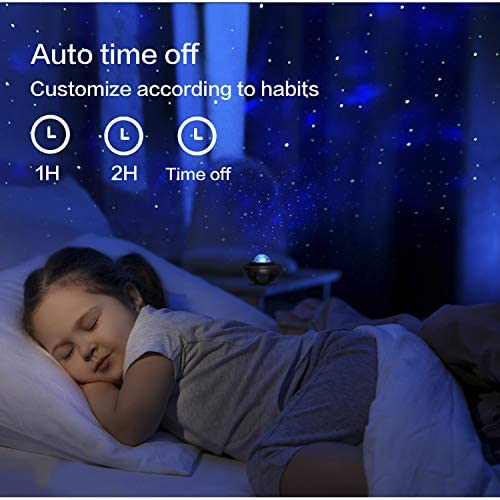 Star Projector,Galaxy Projector,Night Light Projector with LED Galaxy Ocean Projector Bluetooth Music Speaker for Baby Bedroom,Game Rooms,Party,Home Theatre,Night Light Ambiance. 14