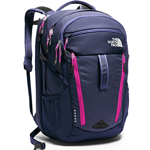 The North Face Surge Women's Backpack Patriot Blue/ RoseViolet Pink