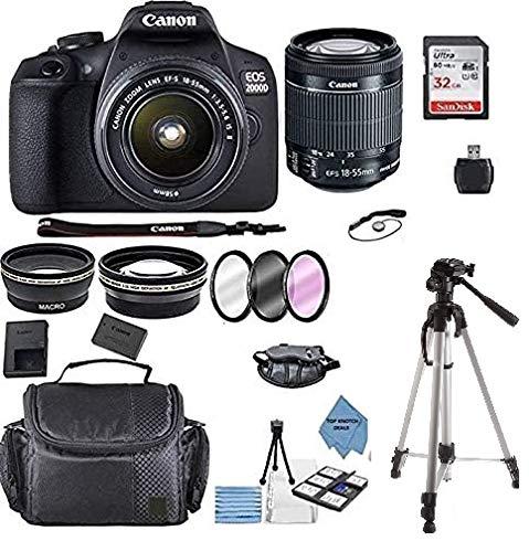 Canon EOS 2000D Rebel T7 Kit