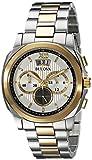 Bulova Men's 98B232 Classic Analog Display Japanese Quartz Two Tone Watch
