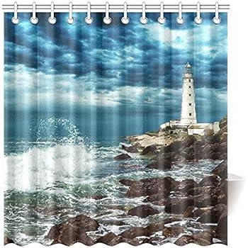 Com Thomas Kinkade A Quiet Cozy Home Custom Shower Curtain