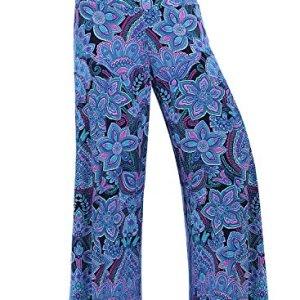 f6e827d82ee Arrisol Women s Stretchy Wide Leg Palazzo Lounge Pants