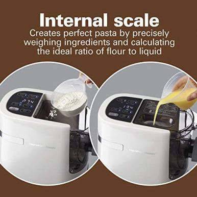Hamilton-Beach-Electric-Pasta-and-Noodle-Maker-Automatic-7-Different-Shapes-White-86650