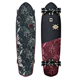 GLOBE Skateboards Blazer XL Longboard Complete Skateboard, Black/Red Forester, 36