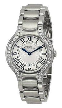 "EBEL Women's 1216069 ""Beluga"" Stainless Steel Watch"