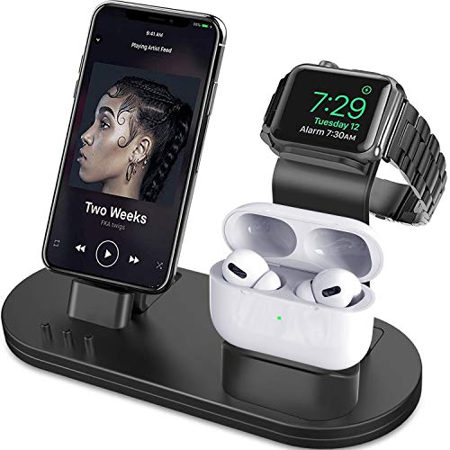 OLEBR-3-in-1-Charging-Stand-Compatible-with-iWatch-Series-6SE54321-AirPods-Pro-and-iPhone-Series-1211-SeriesXsX-MaxXRX8-8P77P6S6S-PlusOriginal-Charger-Cables-Required-Black