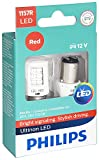 Philips 1157 Ultinon LED Bulb (Red), 2 Pack