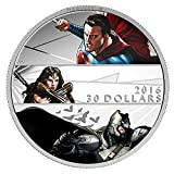 2016 CA Batman v Superman: Dawn of Justice $30 - 2 oz. Fine Silver Coin $30 Brilliant Uncirculated