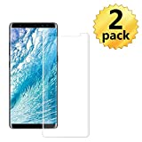 [2 Pack] Samsung Galaxy Note 9 Tempered Glass Screen Protector, invarsely [HD Clear][Anti-Bubble][9H Hardness][Anti-Scratch][Anti-Fingerprint] Screen Protector Note 9