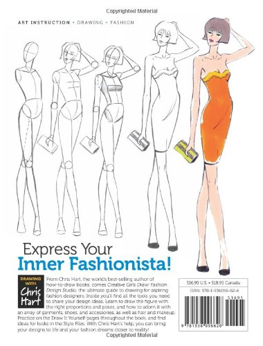 Fashion Design Studio Learn To Draw Figures Fashion Hairstyles More Creative Girls Draw Lance Publishing Studio