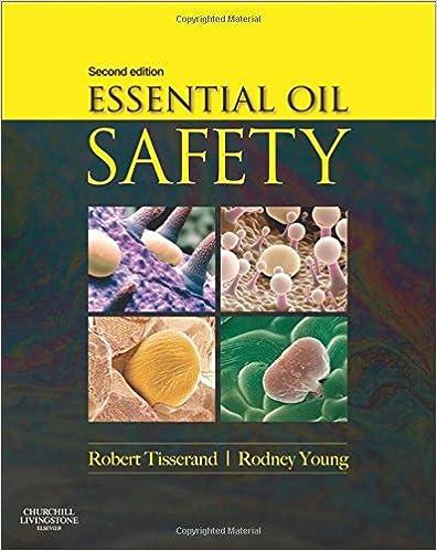 Essential Oil Safety Book Robert Tisserand
