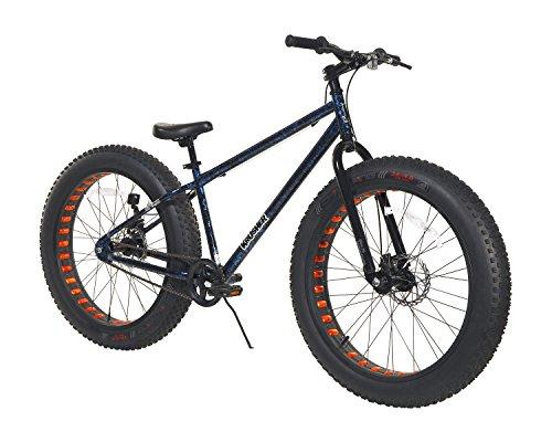 """Krusher Men's Dynacraft Fat Tire Bike, Blue/Black/Red, 26"""""""