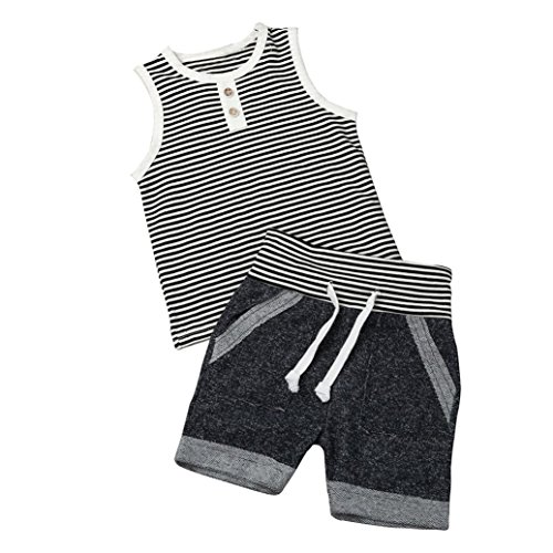 Kehen-Toddler-Baby-Boys-2pcs-Summer-Outfits-Sleeveless-Stripes-T-Shirt-Short-Pants-Casual-Sets