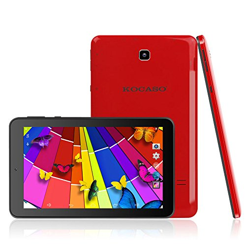 Kocaso MX780 7-Inch 8 GB Tablet (Red)