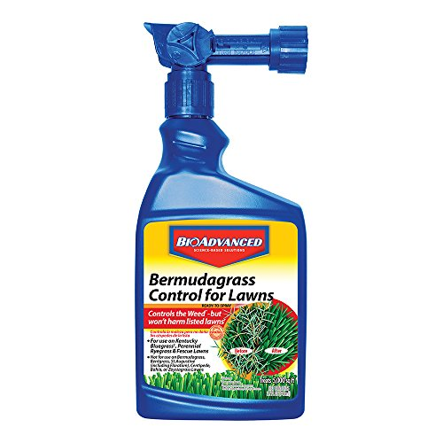 Bayer Advanced 704100 Bermudagrass Control for Lawns Ready-To-Spray, 32-Ounce