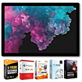 Microsoft KJT-00001 Surface Pro 6 12.3' Intel i5-8250U 8/256GB Convertible Laptop + Elite Suite 17 Software Bundle (Office Suite Pro, Photo Editor, PDF Editor, PCmover Pro) + 1 Year Extended Warranty