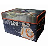 Product review for Star Wars BB8 Mini Kids Collapsible Space Saver Organizer Storage Trunk, Ideal for Storing Toys, Books, Games, Clothes and More! Great Gift For Kids