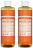 Dr. Bronner's Organic Pure Castile Liquid Soap, Tea Tree Oil, 16 oz, 2 pk