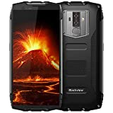 Rugged Cell Phones Unlocked,Blackview BV6800 Pro Unlocked Smartphones,IP68 Waterproof Android 8.0 4G LTE Dual SIM,5.7' FHD+,Octa Core 4GB+64GB,6580mAh Battery,8+16MP Camera,NFC,for AT&T T-Mobile,Black