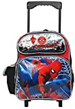 Ruz Spiderman 12 inches Toddler Small Rolling Backpack
