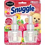 Renuzit Snuggle Scented Oil Refill for Plugin Air Fresheners, Enchanting Tropical, 0.67 Fl Oz (Pack of 2)