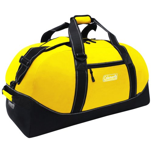 Coleman Explorer 32 Inch Camping Duffel Bag, Yellow, Small