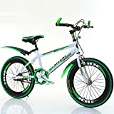 YXGH- Children's Bicycle 20 Inches Boys and Girls Bicycle Pupils Single Speed Mountain Bike Big Boy 7-13 Years Old (Color : Green)