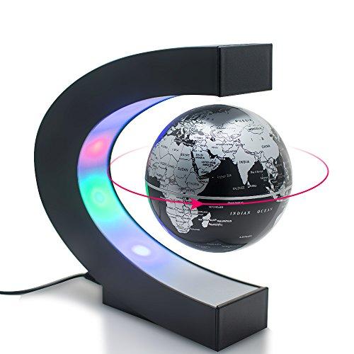 Carejoy C shape Decoration Magnetic Levitation Floating Globe World Map
