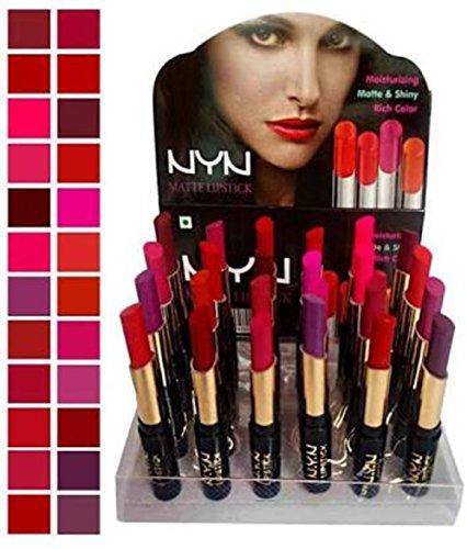 Spanking Matte Waterproof Lipsticks – Pack of 24