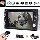 Eincar Android 6.0 Autoradio Head Unit Car Stereo Car GPS Navigation in dash Video with 6.2 inch screen 16GB ROM Support BT WIFI 3G 4G USB SD AUX DAB FM/AM RDS Radio(Free Camera and Extra MIC as gift)