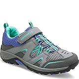 Merrell Kids' Unisex M-Trail Chaser Sneaker, Grey/Multi, 2 M US Little Kid