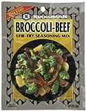 Kikkoman Stir Fry Seasoning Mix, Broccoli and Beef, 1-Ounce Packet (Pack of 24)