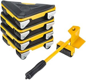 PRIMO SUPPLY Furniture Moving Tool – Heavy Furniture Corner Sliders – Mover Tool Set for Office, Home, Shop, Garage Heavy Lifter – Appliance Moving System – Easy Moving Appliance Rollers Logistics Set