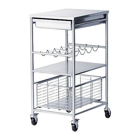 Ikea Grundtal Carrello Portavivande In Acciaio Inox 54 X