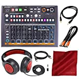 Arturia DrumBrute Impact Analog Drum Machine with Headphones and Accessory Bundle