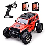 RC Cars 4WD RC Rock Racer Off-Road Electric car,2.4Ghz Radio Remote Control Car, 1/14 Scale RTR Hobby, Remote Control Truck High Speed Racing Monster