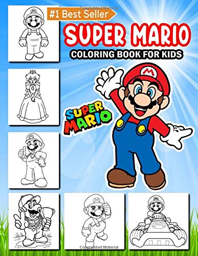 Super Mario Coloring Book For Kids 50 Super Mario Princes Luigi Donkey Kong Yoshi Coloring Pages Super Mario Coloring Book For Teens Super Mario Characters Unofficial Production Green 9798645041953 Amazon Com Books