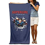 LCYC Supergirl Poster Adult Colorful Beach Or Pool Bath Towel 80cm*130cm