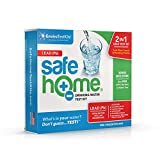 Safe Home LEAD in Drinking Water Test Kit - Our #1 Selling Kit for Testing Lead in CITY & WELL WATER - Two Samples Tested at Our EPA Certified Lab - Don't Guess...Test!