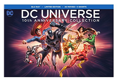 DC Universe 10th Anniversary Collection, 30-Movies [Blu-ray] 1