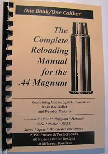 Loadbooks USA, Inc  The Complete Reloading Book Manual for  44 Magnum, –  The GunGuyTV Store
