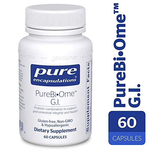Pure Encapsulations - PureBi•Ome G.I. - Hypoallergenic Multi Strain Probiotic Blend for G.I. Comfort and Health* - 60 Capsules
