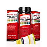 Healthy Star 15 in 1 Water Test kit 100ct,Test for Drinking Water, Aquarium,Pool & Spa;Best Kit for Accurate Water Quality Testing,Instant Results -PH - Free Chlorine - Total Hardness + More